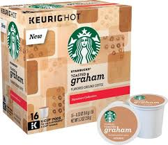 starbucks toasted graham cookie k cups 16 pack 5000082554 best buy
