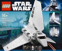 lego star wars lambda class imperial shuttle the green head
