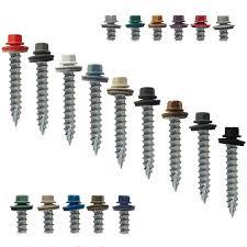 colored sheet metal roofing screws corrugated metal roofing