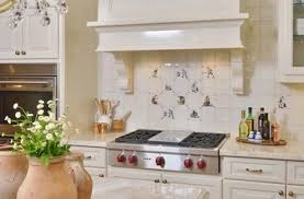 Portuguese Tiles Kitchen - carla aston interior designer or decorator the woodlands tx