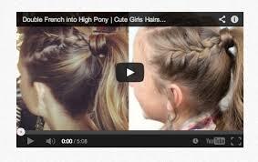 10 cute girls hairstyles youtube tutorials you u0027ll love