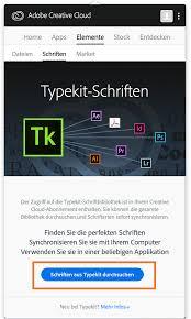 Suchen Und Kaufen Hinzufügen Von Schriften Auf Dem Desktop Aus Typekit