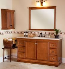 Shaker Style Bathroom Cabinet by Charming Bathroom Wall Cabinets Cherry Wood With Shaker Style Door