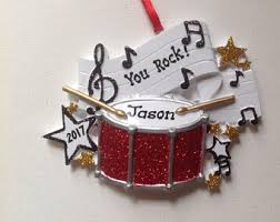 drum ornament etsy