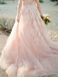 pink wedding dress our favorite wedding dresses from 2016 green wedding shoes