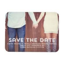 rustic save the date magnets save the date photo magnets wedding ideas