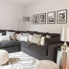 Wohnzimmer Ideen Gelb Gemütliche Innenarchitektur Wohnzimmer Grau Gelb Gardinen Modern