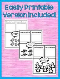 nouns 2nd grade interactive notebook google drive activities