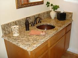 bathroom granite countertops ideas gray wall paint mirror with white wooden frame black granite