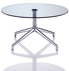 contemporary glass coffee tables combined with steel