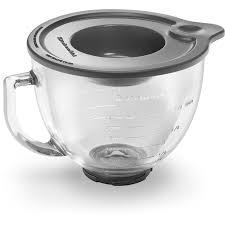 Black Kitchenaid Mixer by Shop Kitchenaid Stand Mixer Glass Bowl At Lowes Com