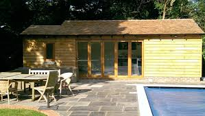construction of pool house east horsley
