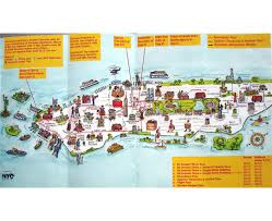 Liberty State Park Map by Maps Of New York Detailed Map Of New York City Tourist Map