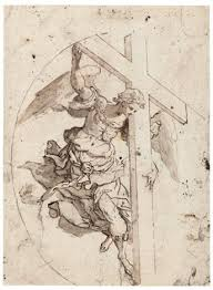 an holding a cross by marco da siena pino on artnet