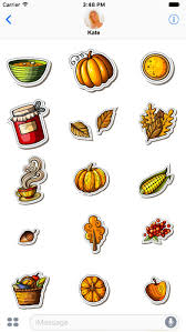 thanksgiving stickers happy thanksgiving stickers app report on mobile