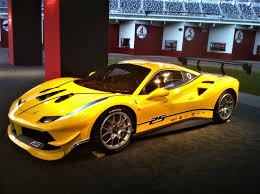 ferrari yellow car the 2017 ferrari 488 challenge race car one more reason to play
