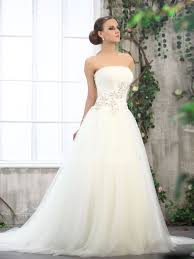 Ball Gown Wedding Dresses Uk Tailor Made Beaded Tulle Ivory Ball Gown Wedding Dress On Sale