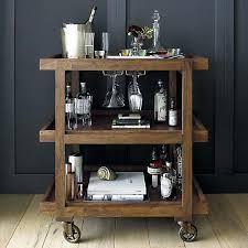 crate and barrel bar table crate and barrel bar cart vanessadore com
