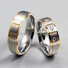 titanium wedding ring sets 43 men and women wedding ring sets wedding idea