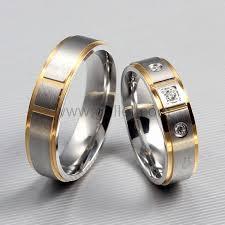 titanium wedding band sets 43 men and women wedding ring sets wedding idea