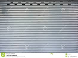 retro matel garage door pattern stock photography image 31848742