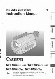 canon camcorder uc v 200 user guide manualsonline com