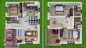 3 bhk house plan 3bhk house plan in 1000 sq ft youtube