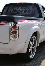 dodge ram rear window dodge ram pictures iron cross and skull design rear window apc