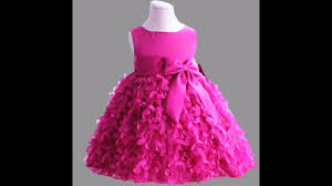 cute netted frocks collections for small kids party wear