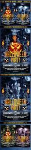 halloween party flyer by gugulanul graphicriver