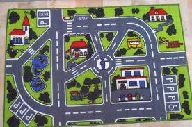 Kids Play Rugs With Roads by Childrens Rug Floor Mat Rugs Kids Roads Activity Car Streets 100 X