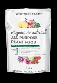 all natural flower food organic natural all purpose plant food