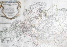 Russia Map Image Large Russia by 1762 D Anville Very Large Antique Map Of Russia Siberia Mongolia