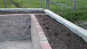 Steine Fur Gartenmauer Hochbeet Raised Plant Bed Youtube
