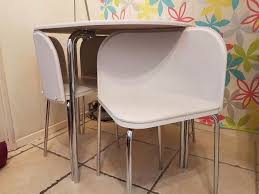 Argos Garden Table And Chairs Argos Hygena Amparo Dining Table And 4 Chairs White In Roath