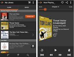 audible for android audible for android gets design overhaul improved library
