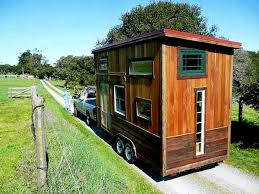 tiny cabin on wheels tiny house and the building code