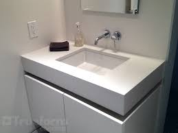 Bathroom Vanity Top White Concrete Vanity Top With Undermount Sink Concrete Vanity
