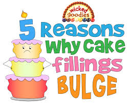 why cake why cake fillings bulge top 5 reasons solutions goodies