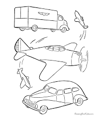 coloring pages cars 024
