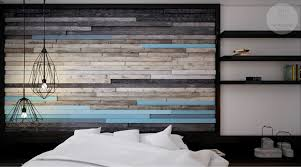 Wood Slats by 25 Beautiful Examples Of Bedroom Accent Walls That Use Slats To