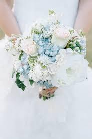 blue and ivory shabby chic wedding