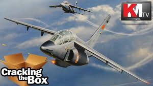 Alpha Canopies by Kinetic Models Alpha Jet A E 1 48 Unboxing Youtube