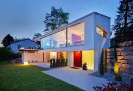 minimalist style sloping house design idea home improvement