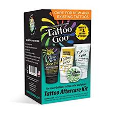 tattoo goo aftercare lotion review amazon com tattoo goo tattoo aftercare kit health personal care