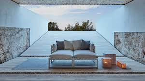gandia blasco tappeti mobili di design per giardini e terrazze divani tavoli lettino