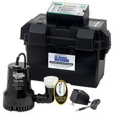 basement watchdog 0 33 hp special battery backup sump pump