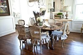 wonderful french dining room chair slipcovers and french country