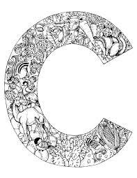 coloriage alphabet animaux pour enfants dessins à colorier