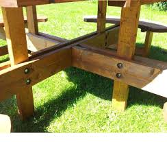 heavy duty round picnic table heavy duty 8 seat round picnic pub type table excalibur